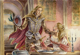 Tywin and Joanna by cabepfir©