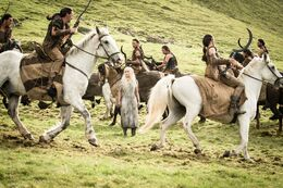 Daenerys dothrakis T5 HBO