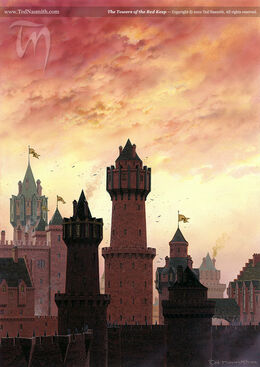 The Towers of the Red Keep by Ted Nasmith©