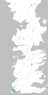 Mapa Estrechos del Tinto