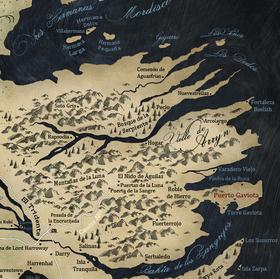 Mapa Valle de Arryn