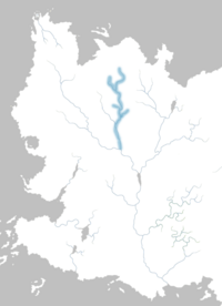 Mapa río Nhoyne