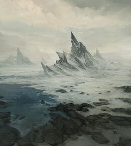The Frozen Shore by Juan Carlos Barquet, Fantasy Flight Games©