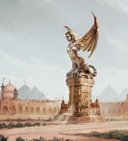 Plaza of Pride by Juan Carlos Barquet, Fantasy Flight Games©