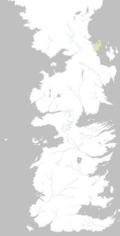 Mapa Punta Storrold