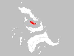 Mapa Isla de los Pájaros