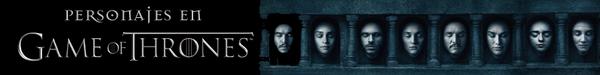 Personajes en Game of Thrones