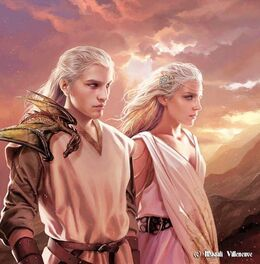 Valyrian Couple by Magali Villeneuve©