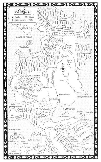 Mapa El Norte TdE