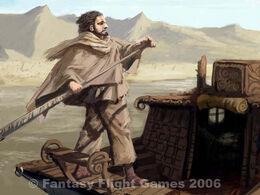 Huerfano del sangeverde by Jonathan Standing, Fantasy Flight Games©