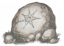 Seven-Points Star in Rock by Arthur Bozonnet©
