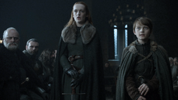 Alys Karstark y Ned Umber juran lealtad HBO