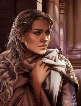 A Lyseni noblewoman by Magali Villeneuve©