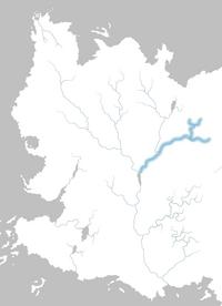 Mapa río Qhoyne