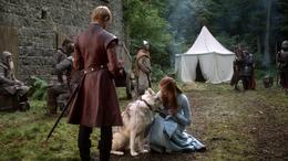 Sansa Stark, Dama y Joffrey Baratheon HBO
