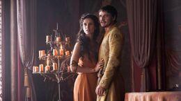Ellaria y Oberyn HBO