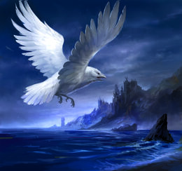 White Raven by by Sandara, Fantasy Flight Games©