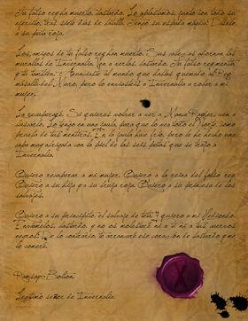 Carta del Bastardo by Sergio Tavel©
