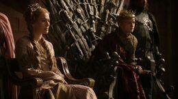 Cersei como reina regente HBO