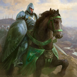 Manderly Knight by Antonio José Manzanedo, Fantasy Flight Games©