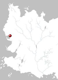 Mapa Pentos