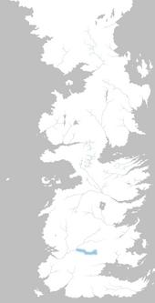 Mapa Río de los Mejillones