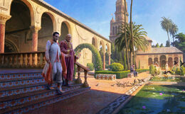 Intrigue in Dorne by Joshua Cairós©
