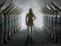 King's honor guard by Henning Ludvigsen, Fantasy Flight Games©