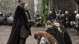 Robert llega a Invernalia HBO