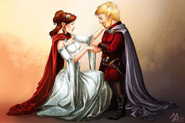 Tyrion and Sansa by Mathia Arkoniel©