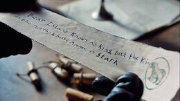 Carta de Lyanna HBO
