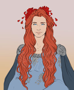 Catelyn Tully on her wedding day by Rae Lavergne©