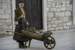 Arya como Gata HBO