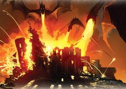 Dragonfire by Tomasz Jedruszek, Fantasy Flight Games©