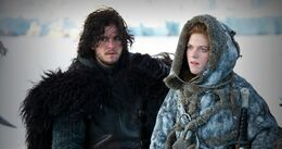 Jon con Ygritte HBO