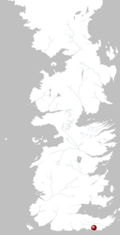 Mapa Costa Salada