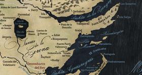 Mapa Tierras de la Corona