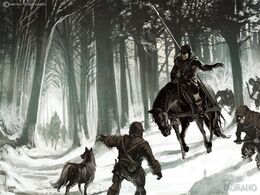 Wolf Woold Hunters by Tomasz Jedruzek, Fantasy Flight Games©