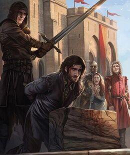 Ejecución Eddard Stark by Magali Villeneuve©