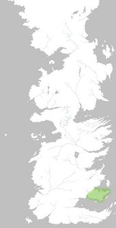 Mapa Cabo de la Ira