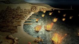 Nymeria quema sus barcos HBO