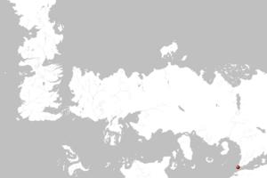 Mapa Asshai