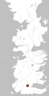 Mapa Paso del Príncipe