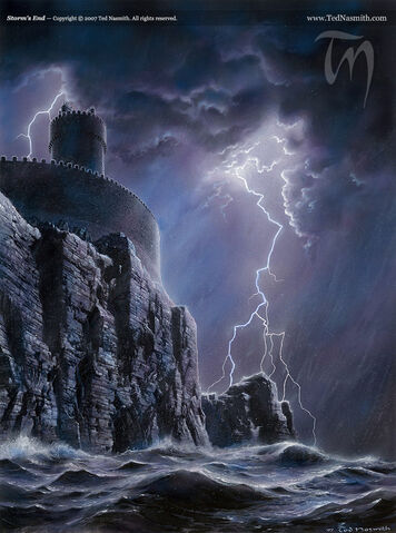 Archivo:Storm's End by Ted Nasmith©.jpg