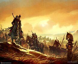 Drogo's khalasar Tomasz Jedruzek, Fantasy Flight Games©