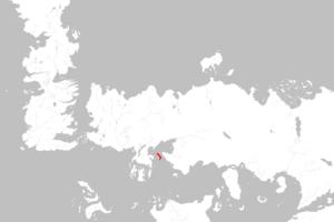 Mapa Isla de los Cedros