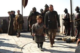 Bronn y Tyrion HBO