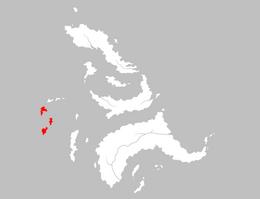 Mapa Las Tres Exiliadas