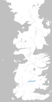 Mapa río Fuegoazul