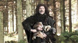 Salvaje ataca a Bran HBO